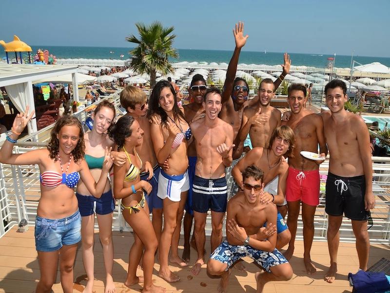 Bagni 110 Giorgio a Riccione - la Spiaggia di Riccione
