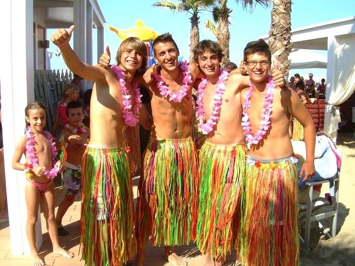 Гавайская вечеринка костюм своими руками